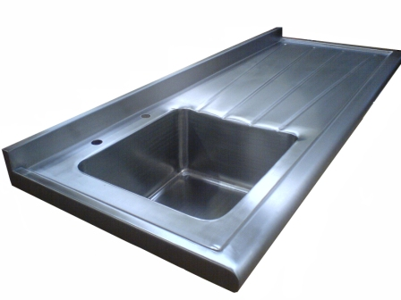 Stainless Steel Sink Tops : Custom Work & Sink Tops - Stainless Steel Medical and Catering ...